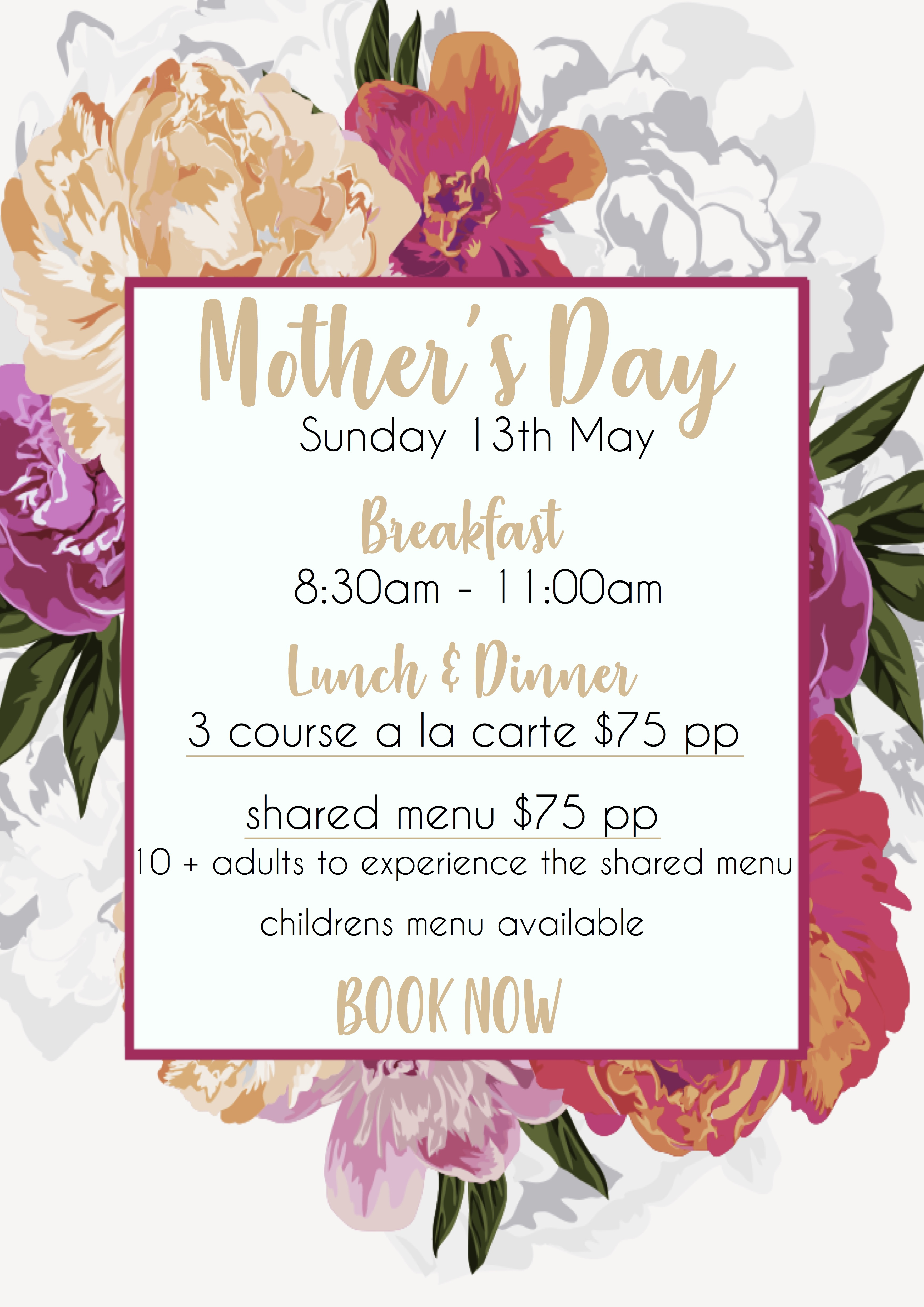 Mother S Day Entrata